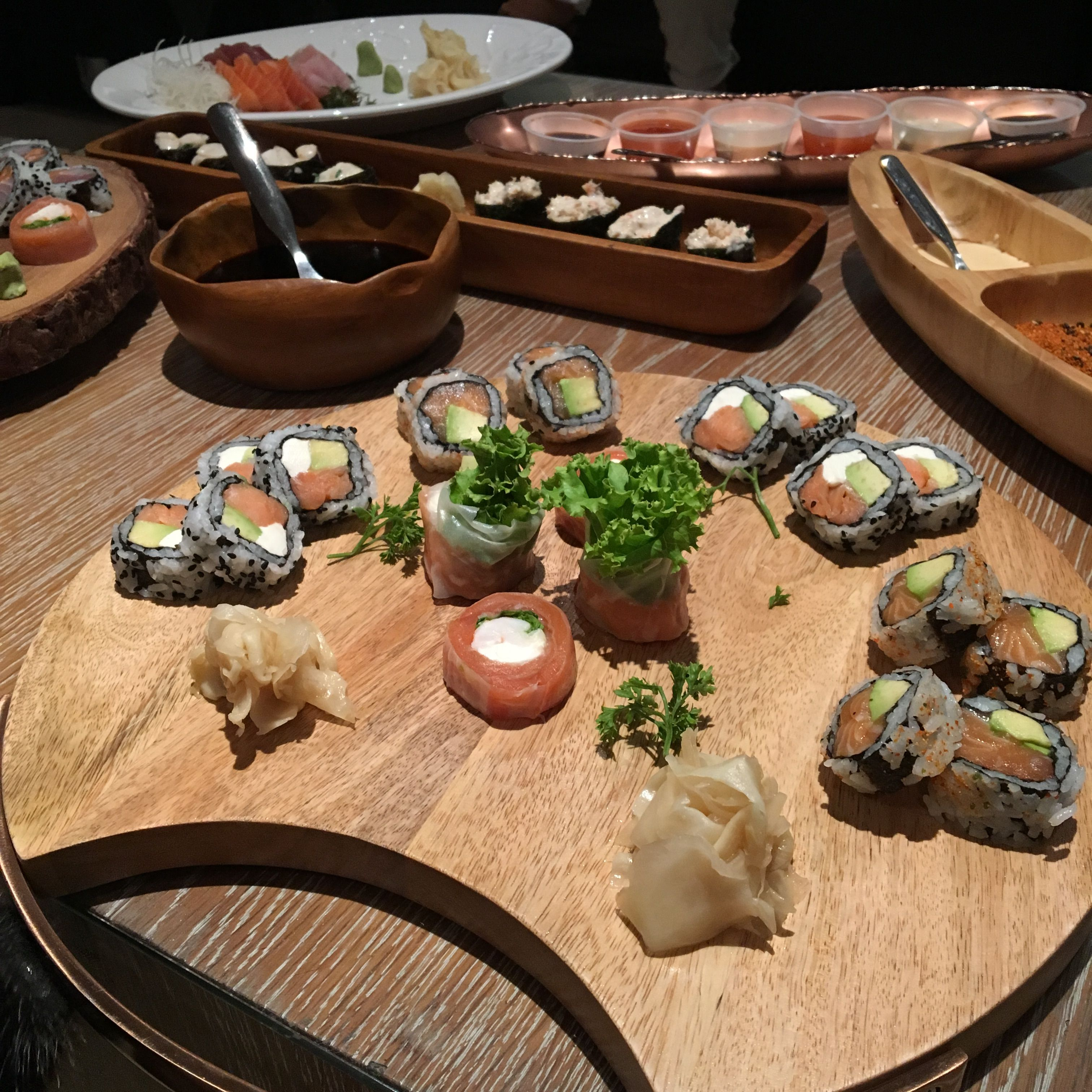 Mesa De Makis At Home By Sushi Ito Table Decorations Eat