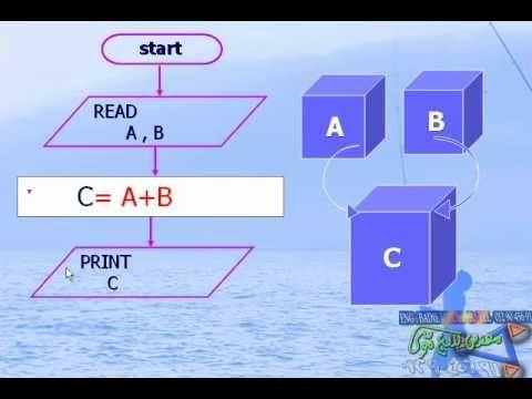 الفصل الاول حل المشكلات الدرس رقم 00003 خرائط التدفق Flow Chart Youtube Reading Enjoyment