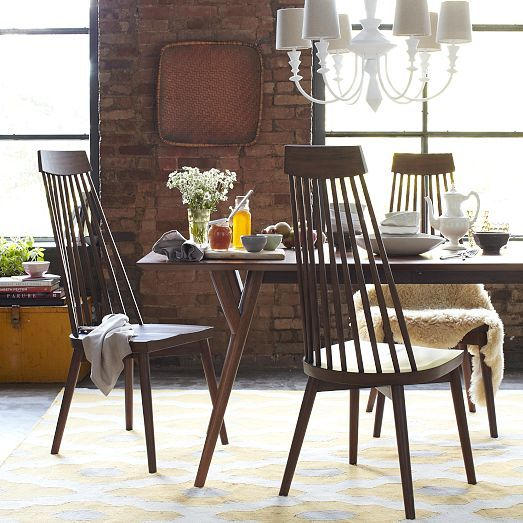 explore expandable table cool chairs and more spoke dining chair west elm