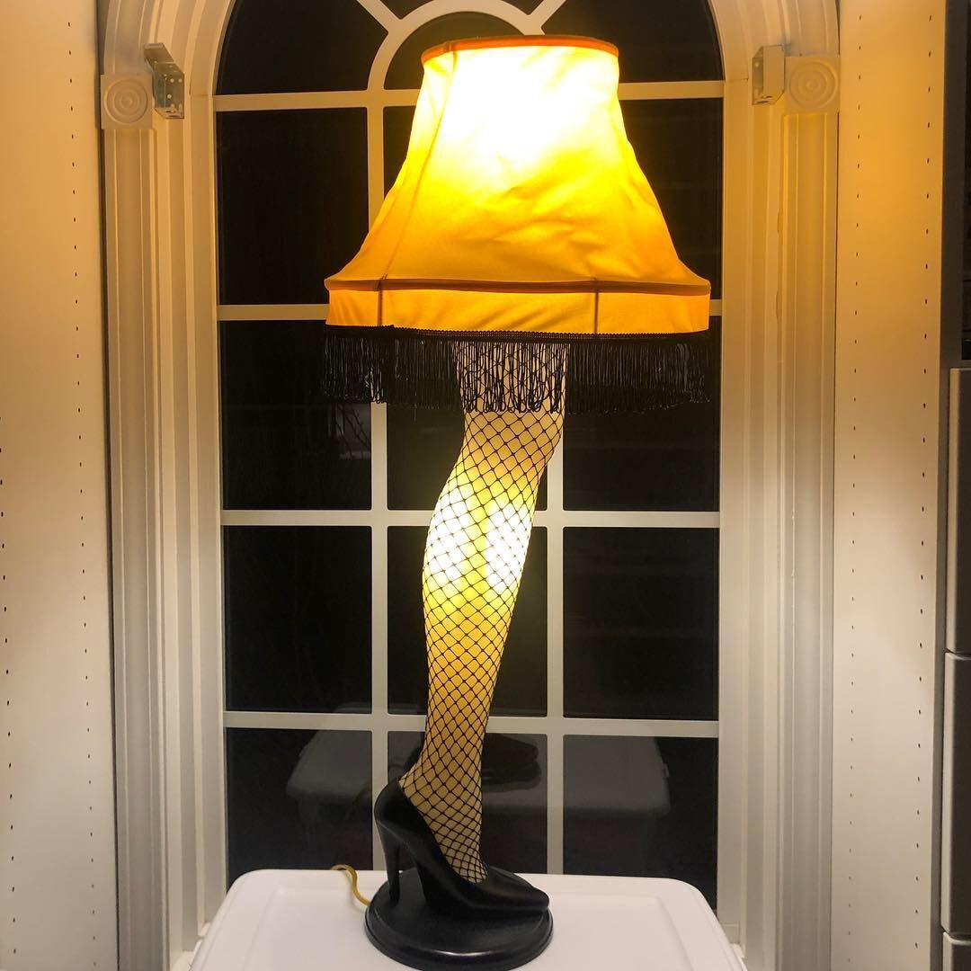 It S A Major Award Leg Lamp Addition Leg Lamp Lamp A Christmas Story