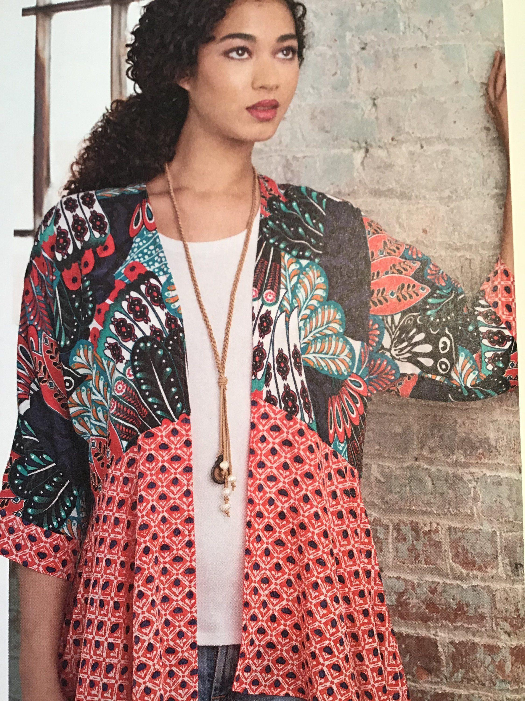 Kimono Jackets Sewing Pattern~Easy-to-Sew! Simplicity 8172 Sizes XXS-XXL