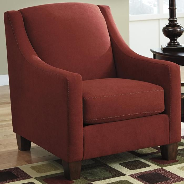The Ashley 4520221 Accent Chair Will Fill Your Living Room With A Classy  Ambience. Designed With Plush Boxed Seating And Back Cushions, It Provides  Ultimat