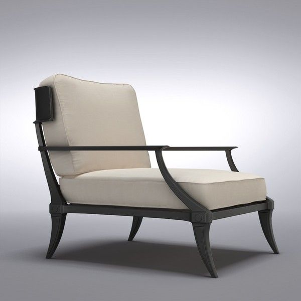 restoration hardware - Klismos lounge chair | Client ...