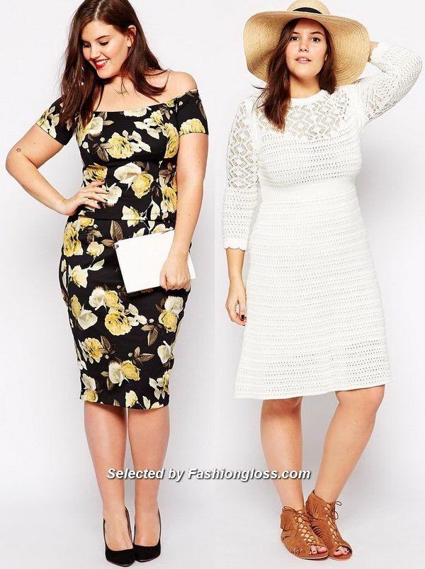 Trendy Fashion Plus Size Dresses And Skirts 2015 2016 By Asos 1