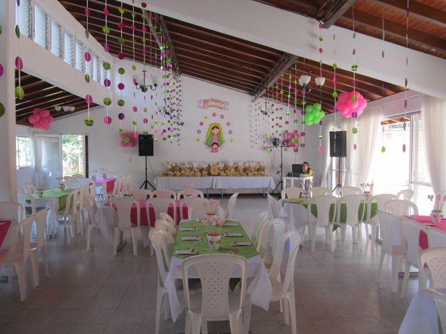 decoracion primera comunion virgen guadalupe