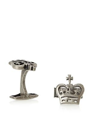 44 Off English Laundry Gunmetal Crown Cufflinks