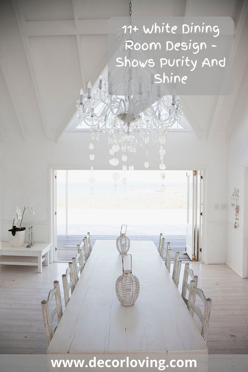 Consider the following ideas on furniture and decor in the white dining room ideas. #whitediningroom #diningroomdesign #diningroomideas #diningroomdecor #moderndiningroom #luxurydiningroom