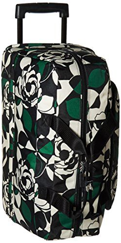 369d66903abf Vera Bradley Womens Lighten up Wheeled Carry on Imperial Rose   More info  could be found at the image url.