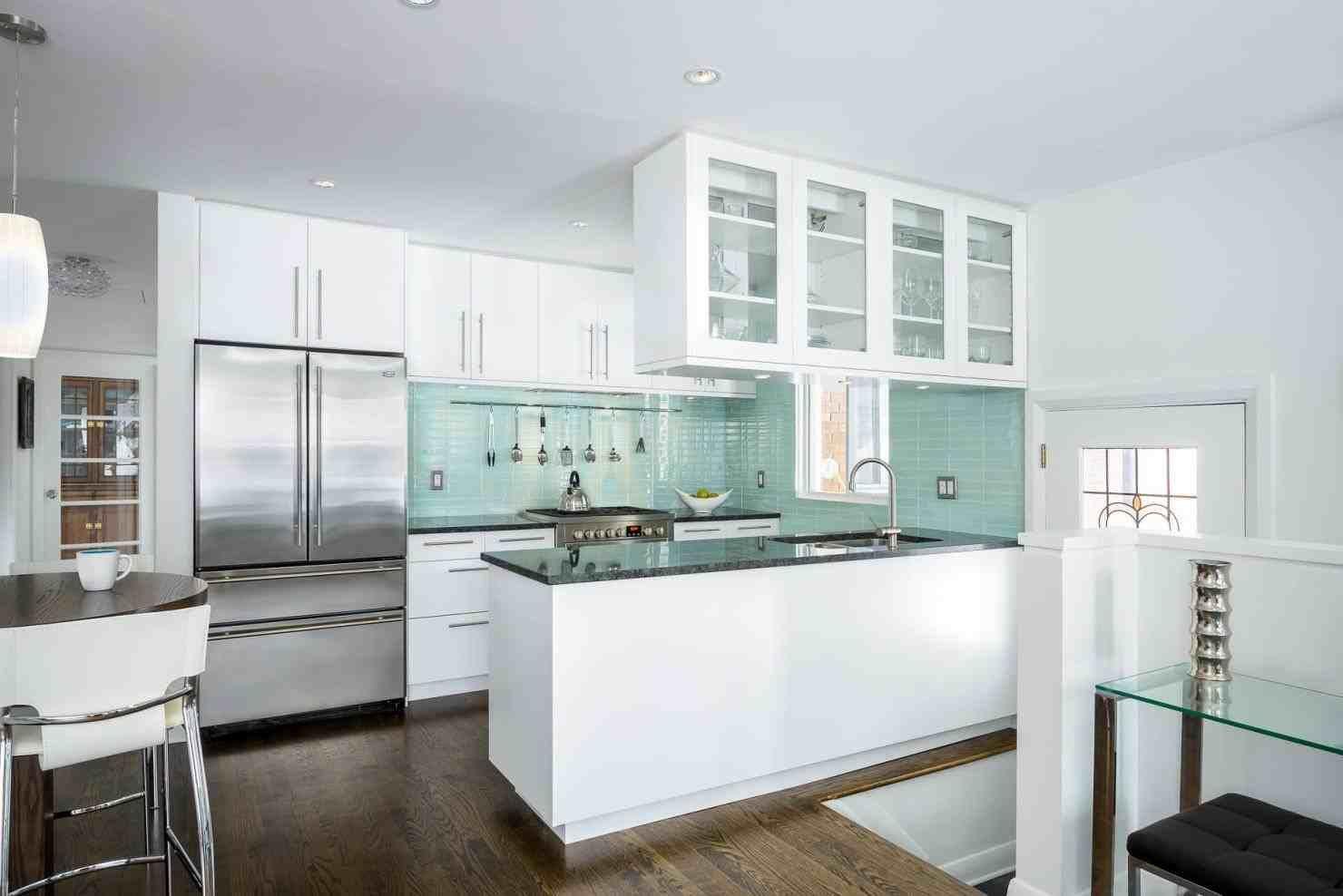 small modern kitchen designs 2017 | Home Ideas | Pinterest | Small ...