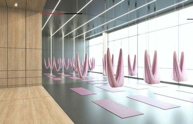 Ladies 'Fitness Center Interior Design – Riad, Saudi-Arabien – CAS   #39Fitness #Arabia #CAS #Center...