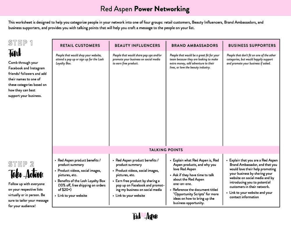 Power Networking.jpg Beauty influencer, Brand ambassador