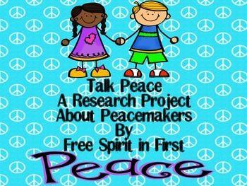 Peace Research Project and Powerpoint Script http://www.teacherspayteachers.com/Product/Peace-Research-Project-and-Powerpoint-Script-1065614