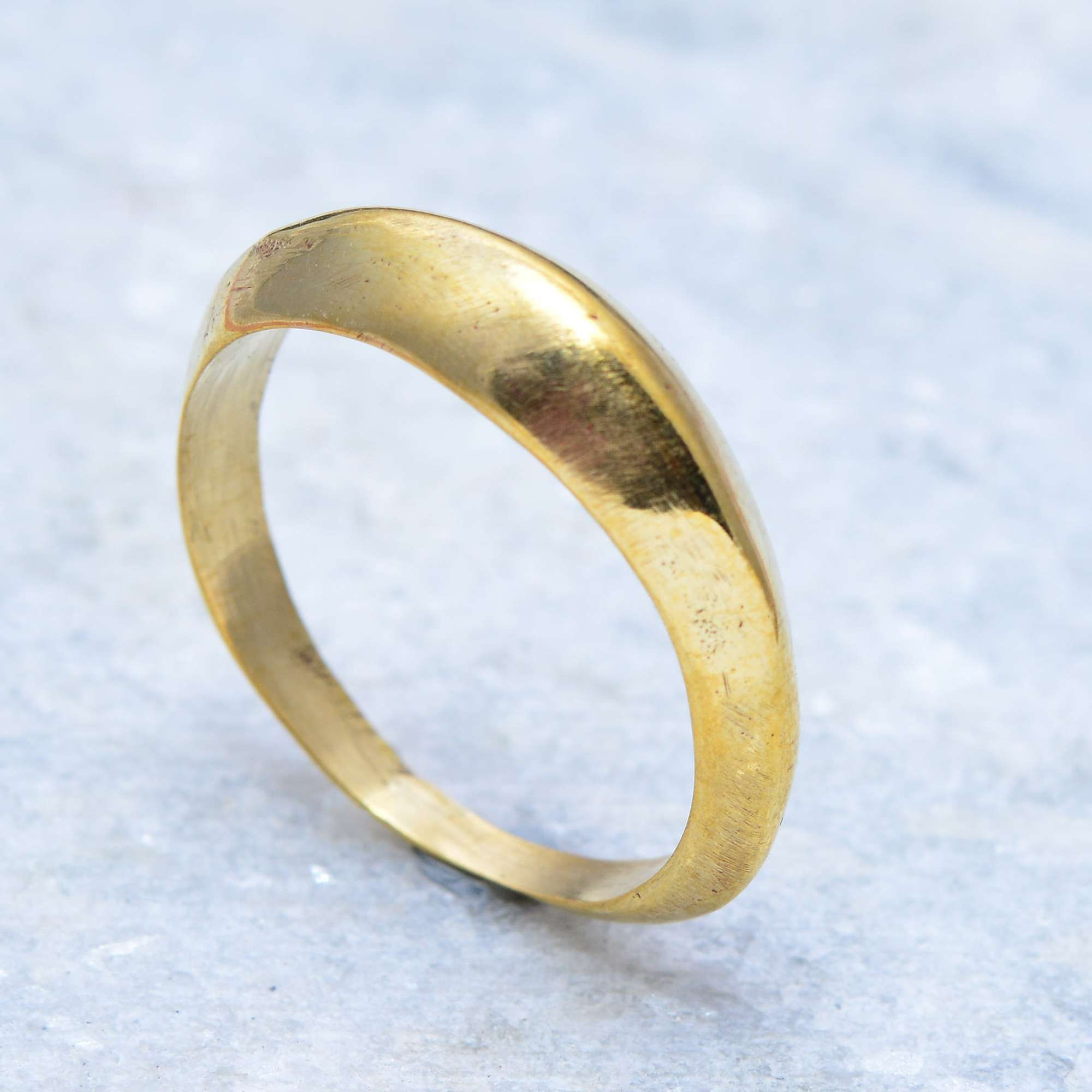 Wide Ring Brass Wedding Band Gold Brass Band Wide Brass Ring Etsy Gold Wedding Band Gold Rings Rings Simple