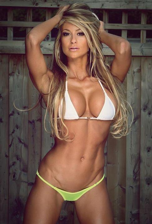 models fitness Laura female michelle