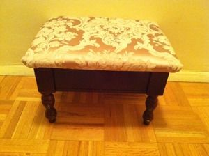 Repurpose Upholstery Fabric Diy Upholstery How To Re Upholster A