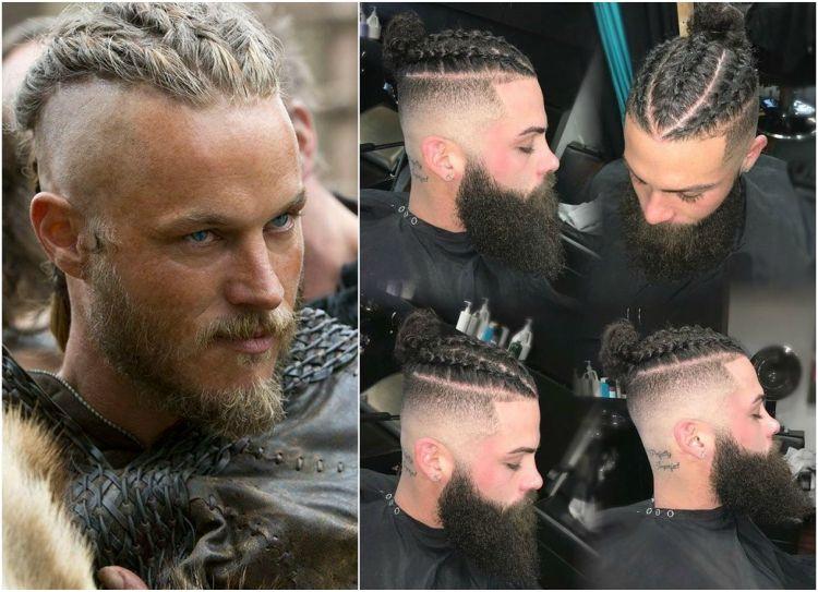 Wikinger Frisuren Undercut Sidecut Flechten Ragnar Lothbrock Frisuren Hairstyle Hair Wikinger Frisuren Frisur Undercut Frisuren