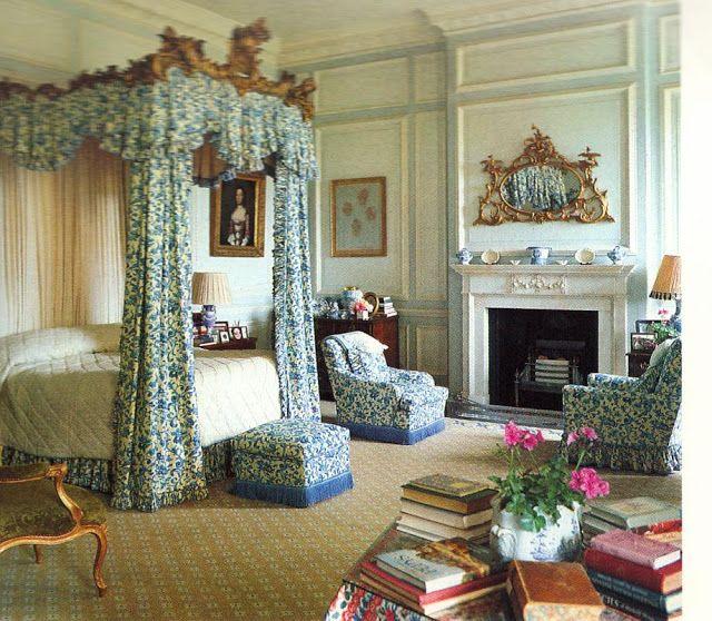 The English Home Interior And Interiors Interior Design Of