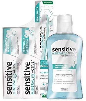 Rimborso Totale Mentadent Sensitive Mineral Active