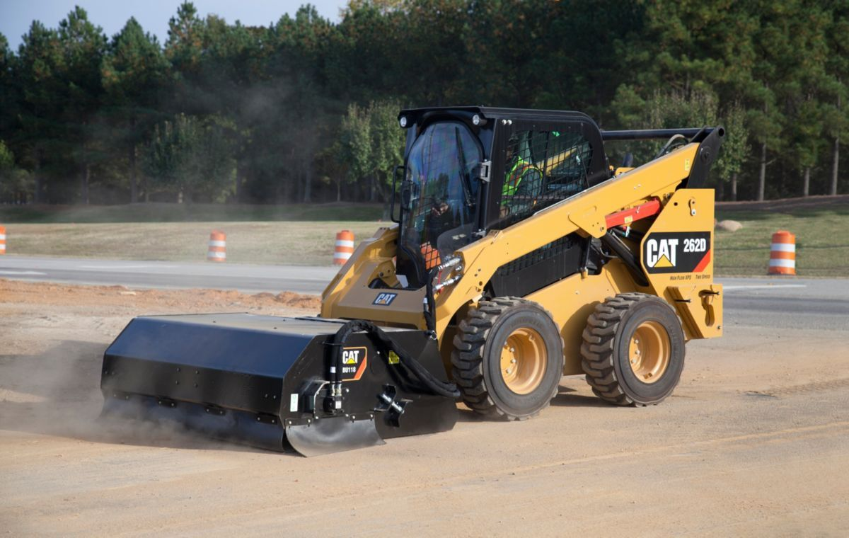 Cat Skid Steer Loaders are built for reliability, stability