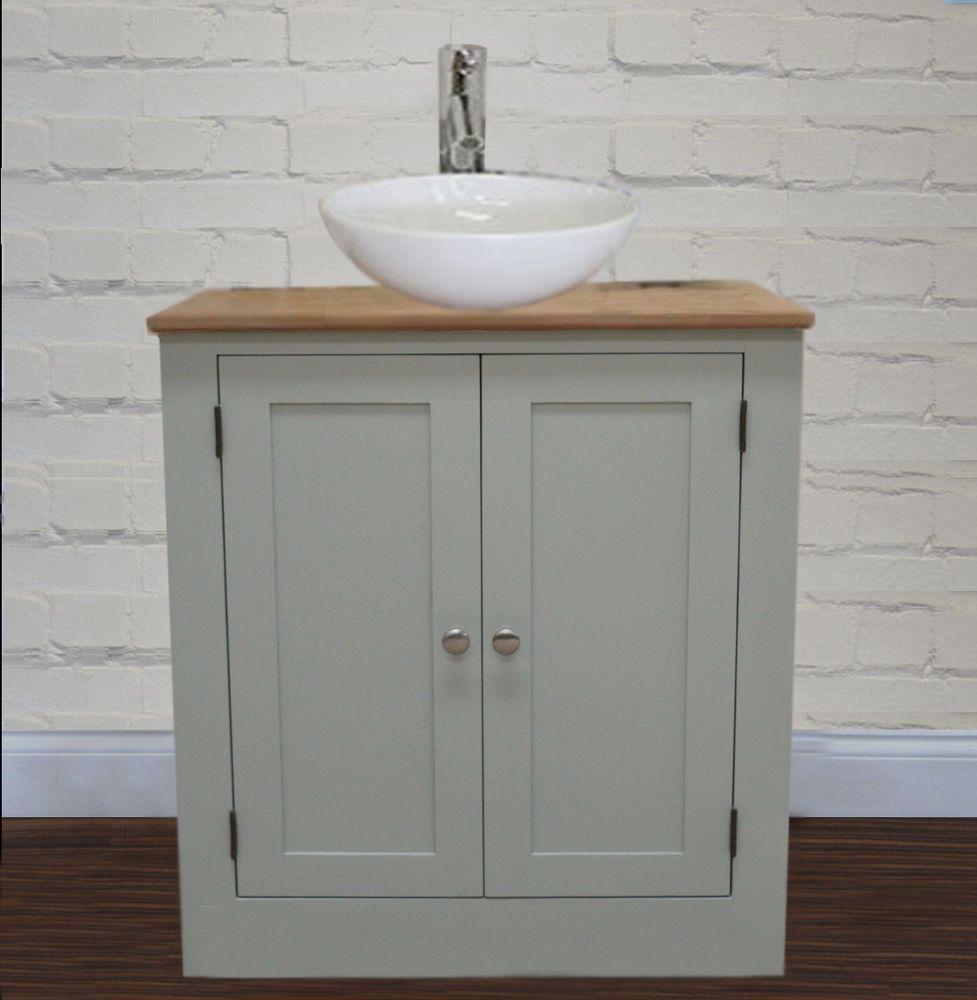 Bathroom Sinks Ebay bathroom vanity unit furniture 600 wide wash stand oak cabinet