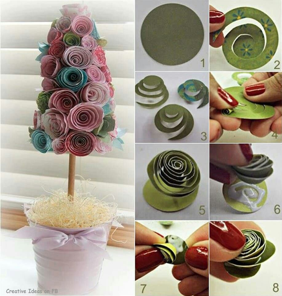 Paper rose craft cool crafts pinterest rose crafts craft and craft sapling tree cute diy plant crafts home made easy crafts craft idea crafts ideas diy ideas diy crafts diy idea do it yourself diy projects diy craft solutioingenieria Images