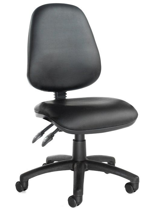Fabulous An Excellent Quality Viceroy High Back Leather Operator Ncnpc Chair Design For Home Ncnpcorg