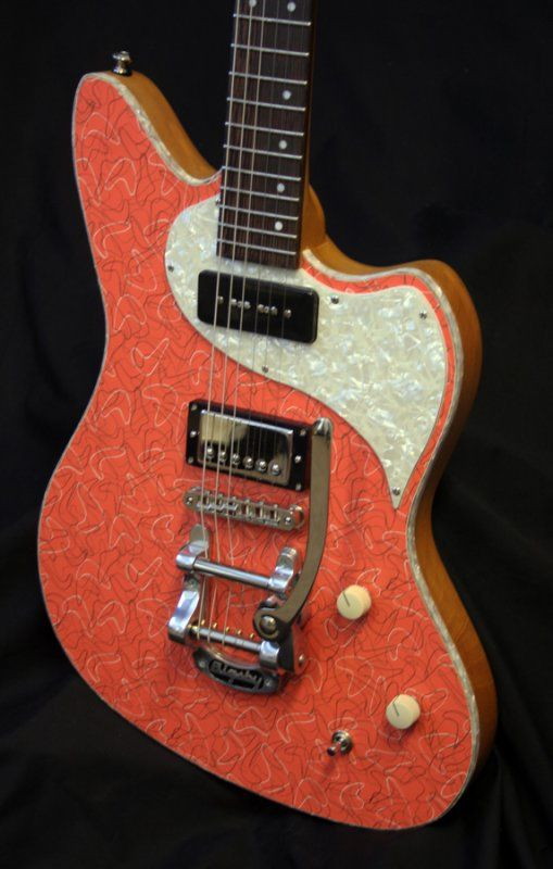 Kauer Daylighter - a modern guitar with the cool retro Formica ...