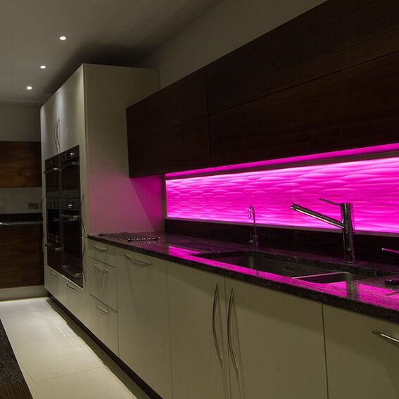 Under Kitchen Cabinet Lighting Ideas: Pin By July On How To Used Led Strip Light In 2019