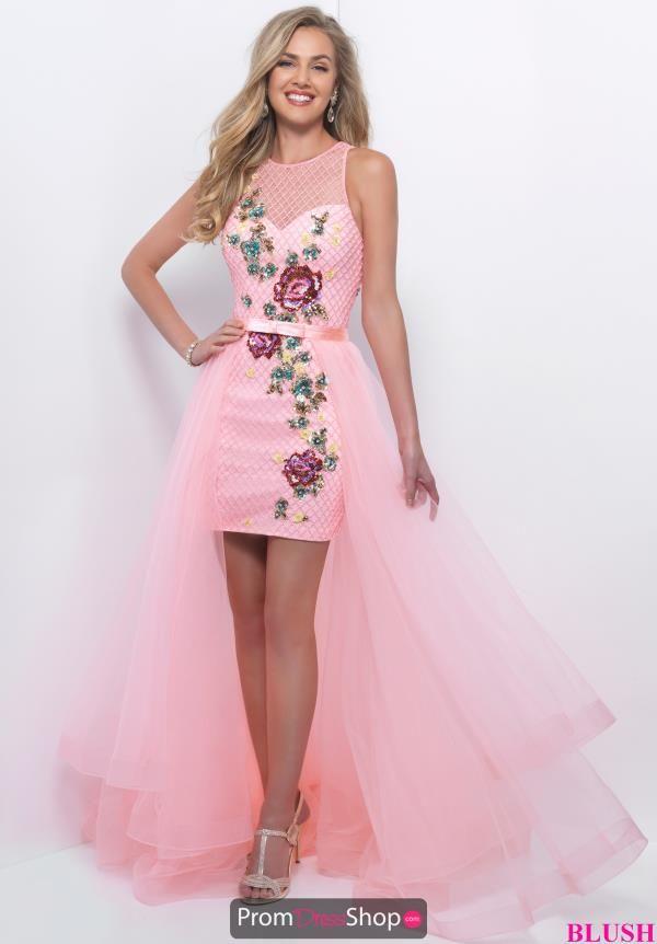 Beaded Tulle Blush Dress 11205 | Pinterest