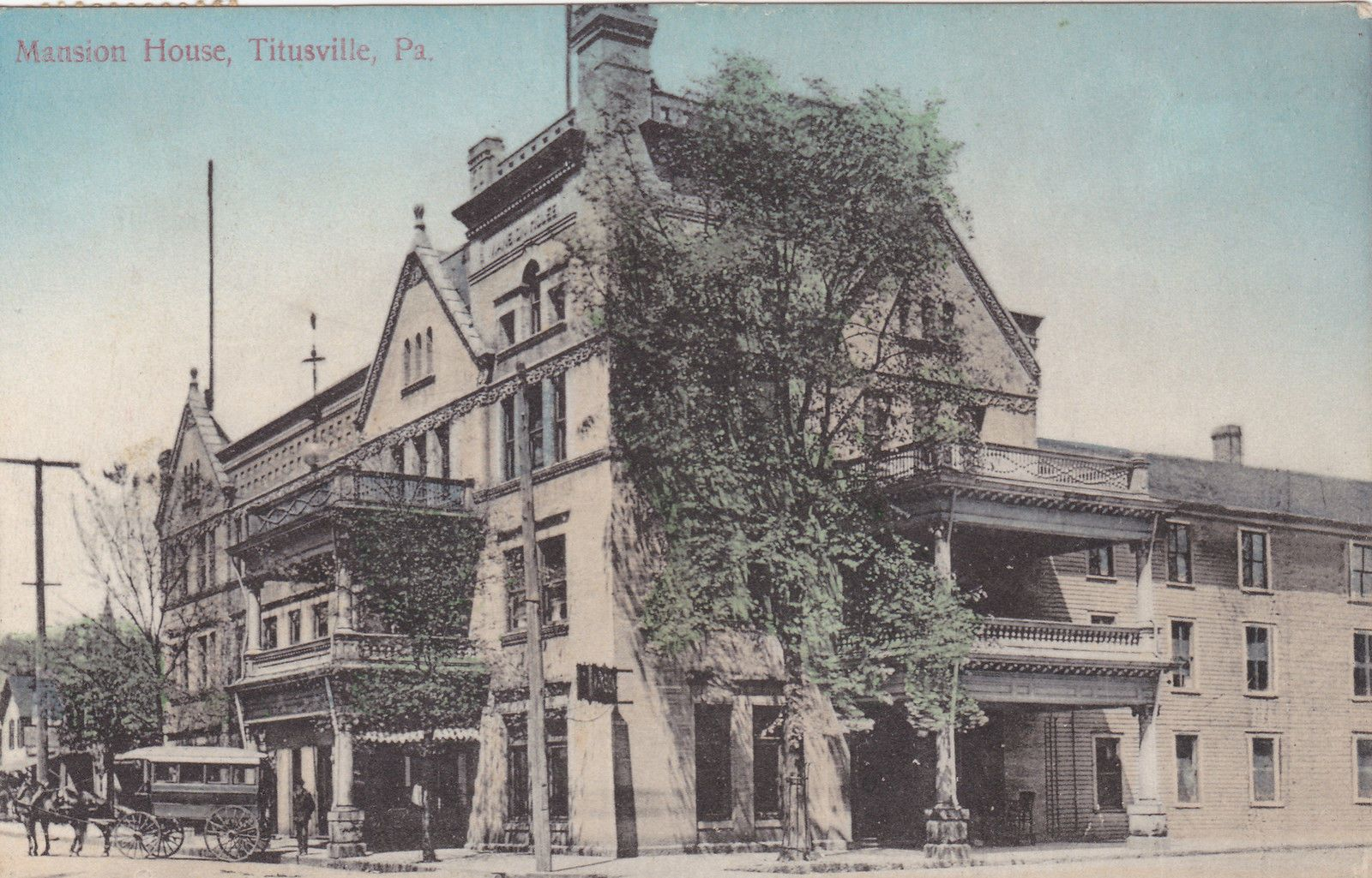 Mansion House Titusville Pa Mansions Titusville