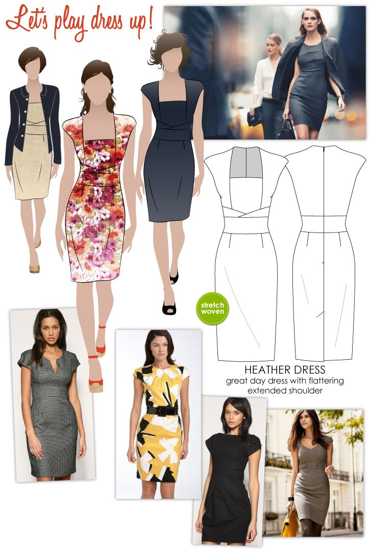 Heather Dress | Pinterest | Dress patterns, Patterns and Sewing patterns