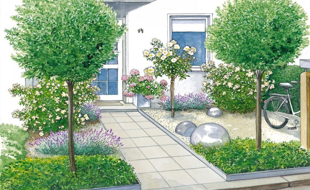 Vorgartengestaltung 40 Ideen zum Nachmachen   Vorgarten ...