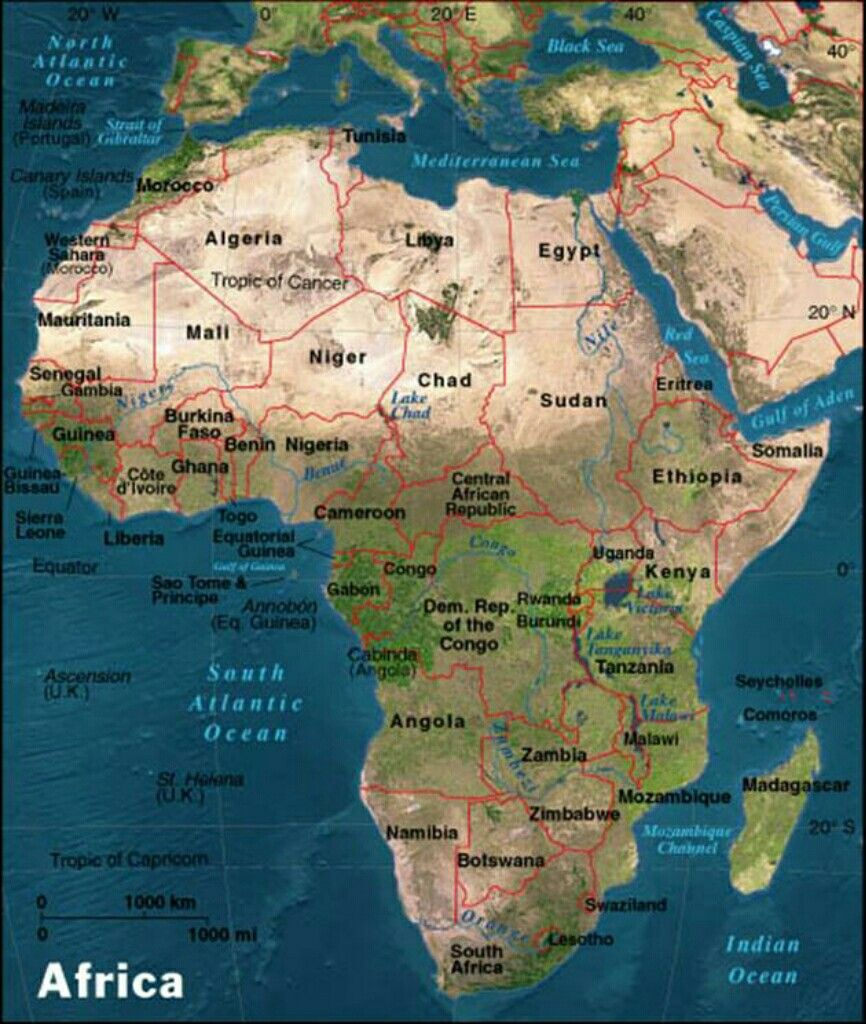 All About Africa Africa Map Puzzle African