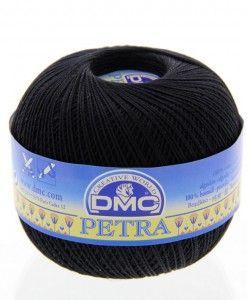 dmc petra 3 5310 black petra perle cotton available from loveellie.com @LoveEllieBags