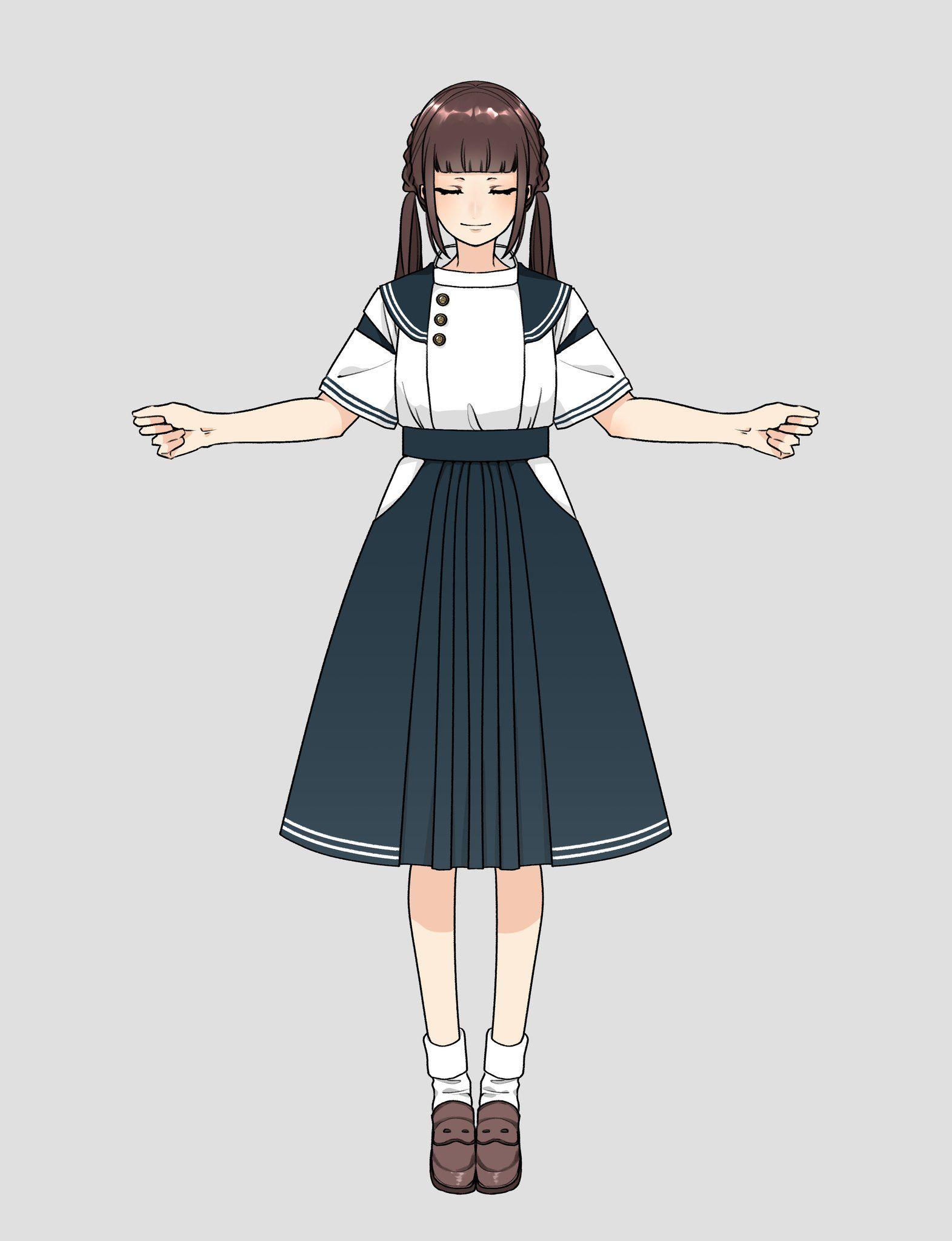 花月 On マンガの服 ドレス かわいい コスチュームデザイン