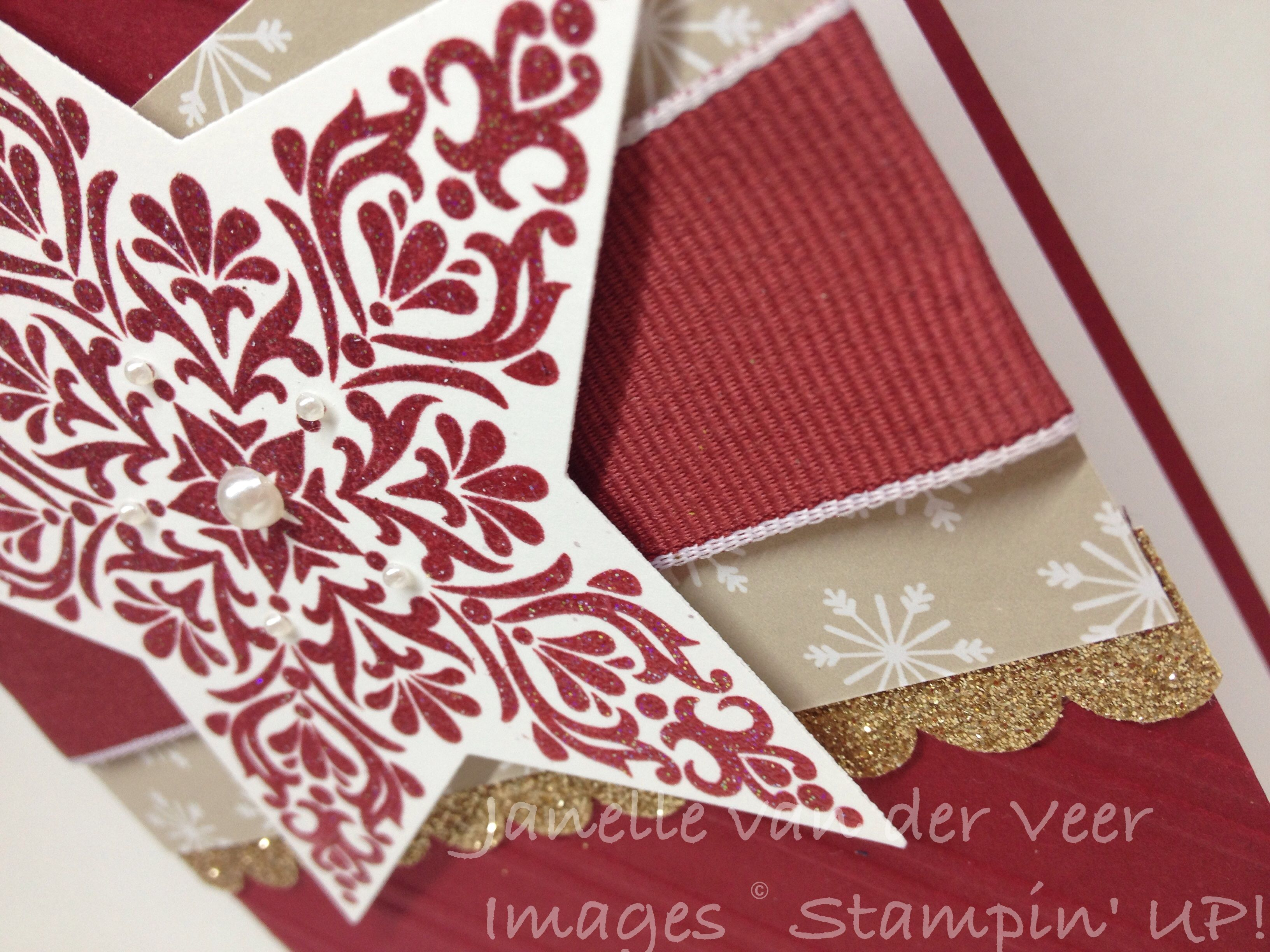 Bright and Beautiful Stamp Set. Christmas 2014. Stampin' Up!