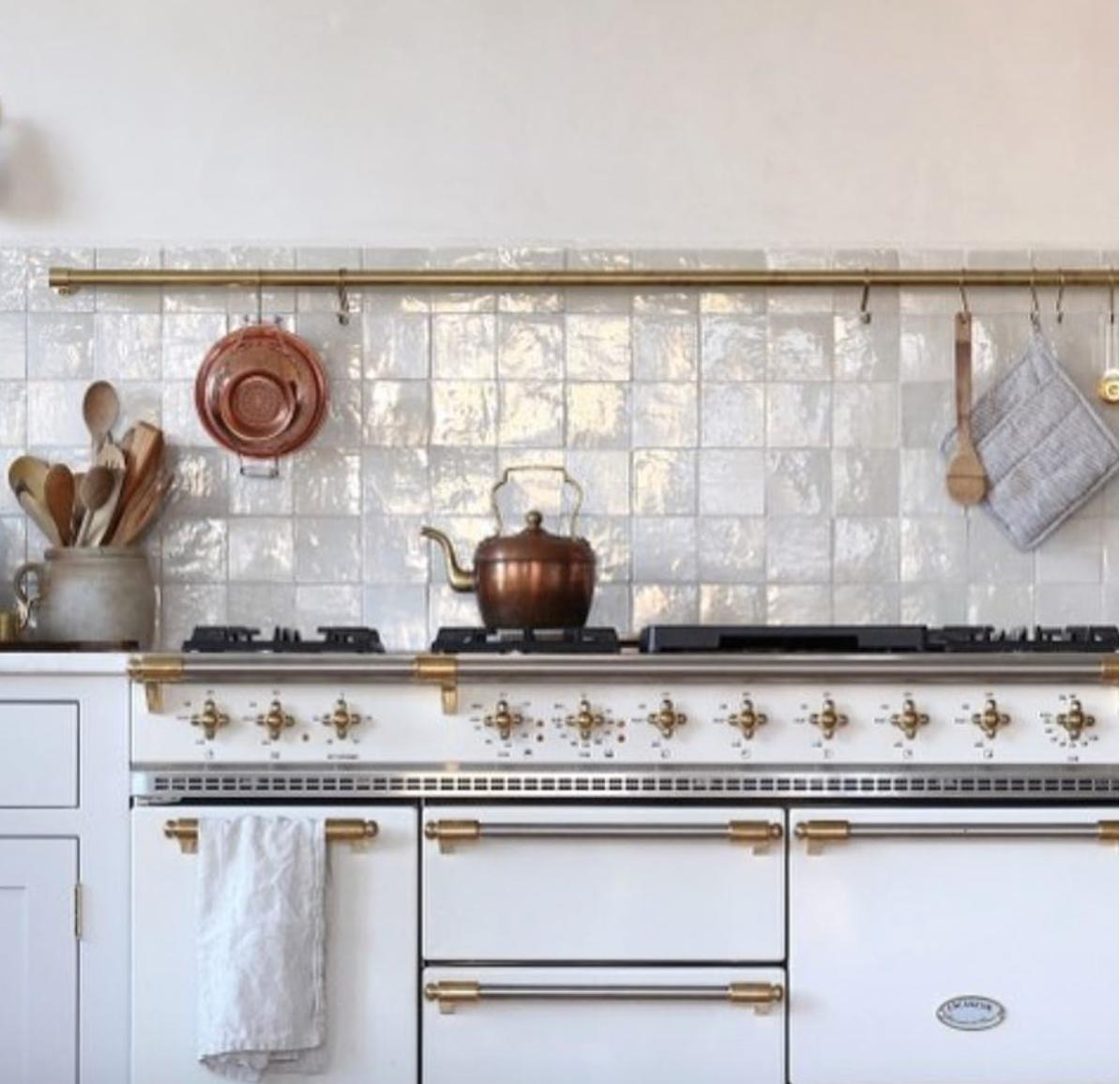 Weathered White Zellige Terracotta Tile Kitchen Renovation Kitchen Design Kitchen