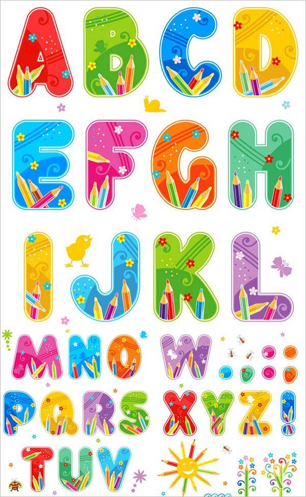 23+ Large Alphabet Letter Templates & Designs   Free & Premium ...