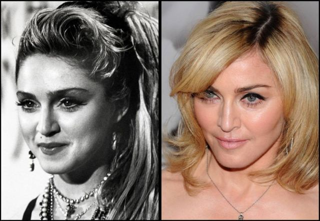 Aging... Madonna, yes but having surgery is not what aging gracefully is about.