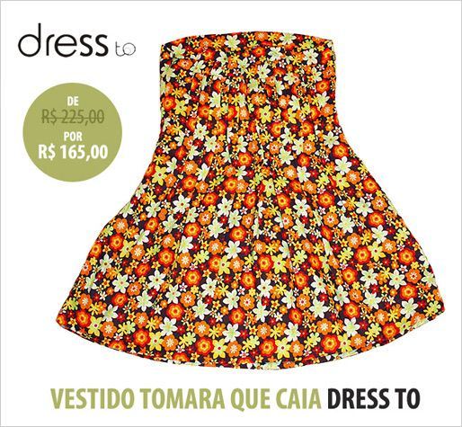 Tudo Off!: Dress To