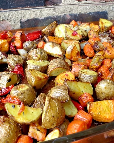 Easy Oven Roasted Vegetables Recipe Healthy Recipes Roasted