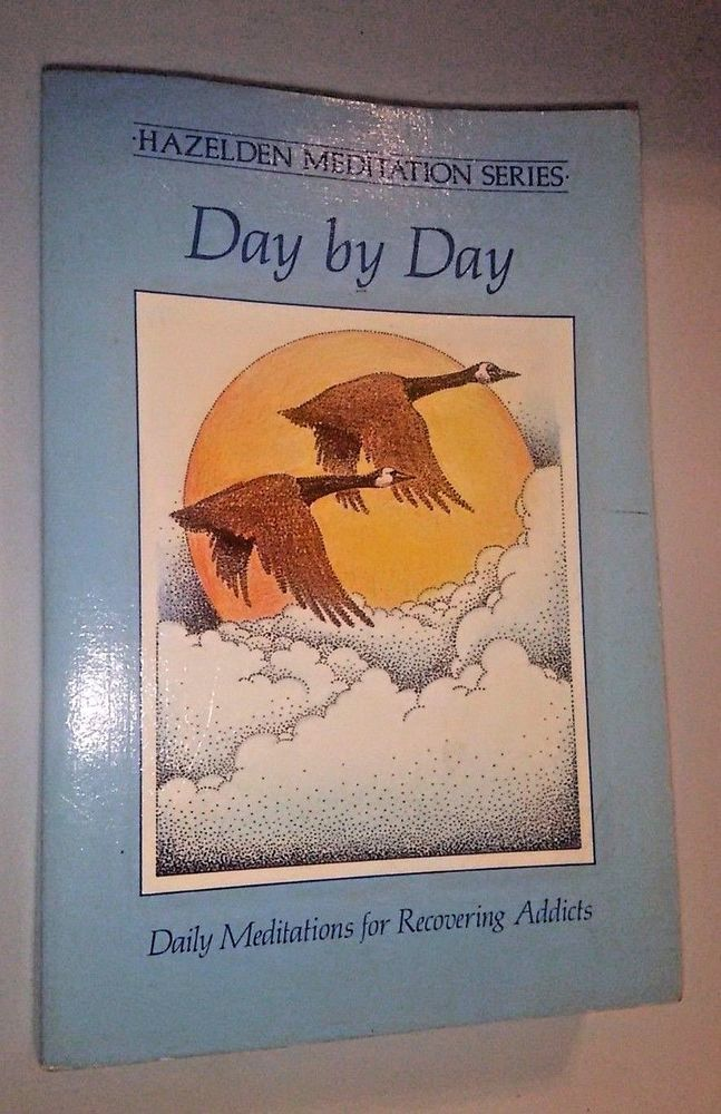VTG 1974 Hazelden AA Alcoholics Anonymous Day By Day ...
