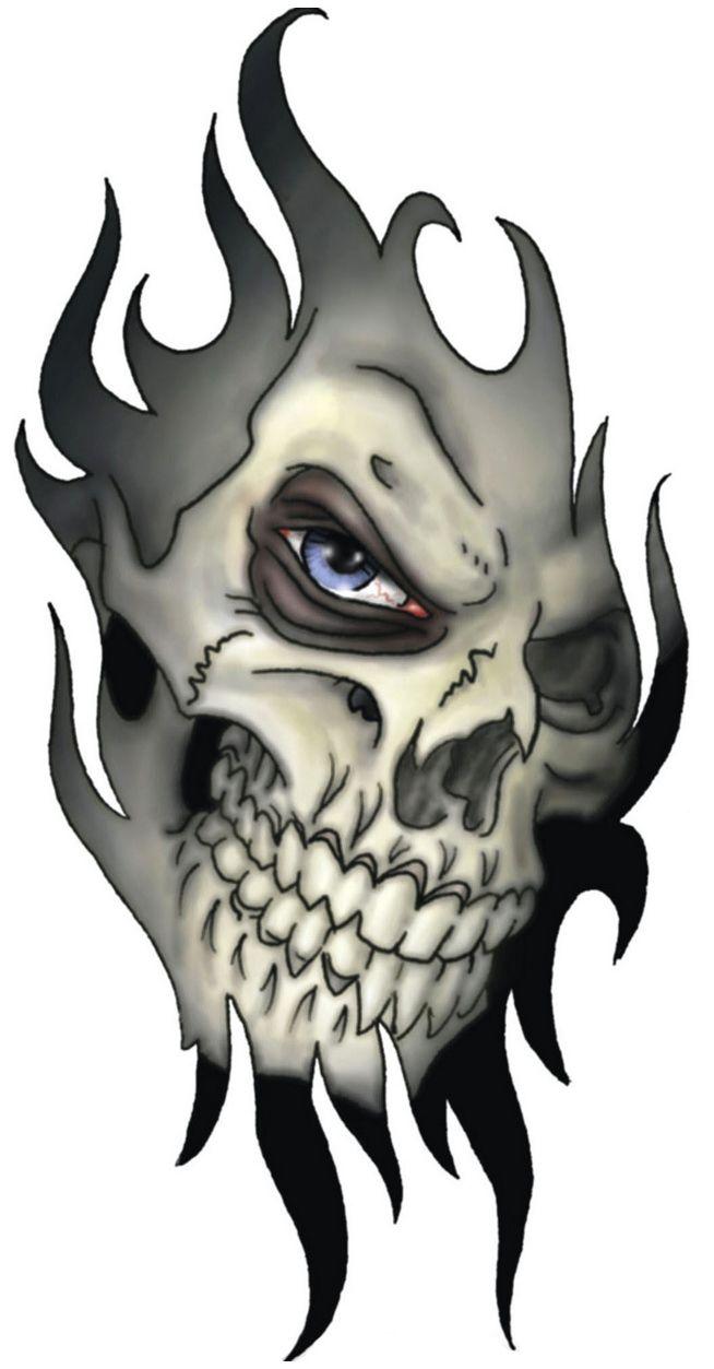 Skull Tattoo Design For Men And Girls Free Skull Tattoo Designs Evil Skull Tattoo Tribal Skull Skull Tattoo Design
