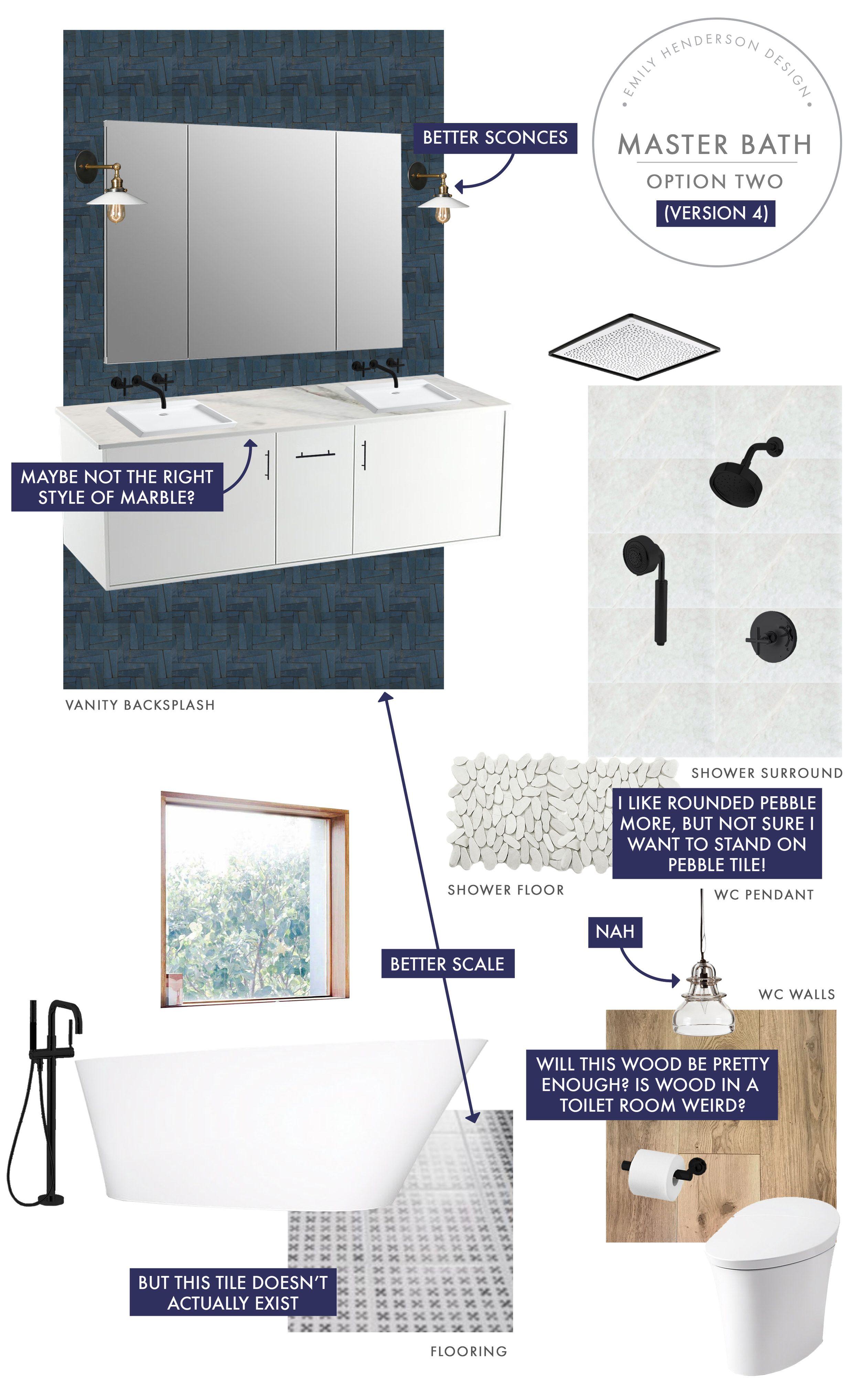 Das Berghaus: Master Badezimmer Design Prozess #badezimmer #berghaus #design  #master #prozess