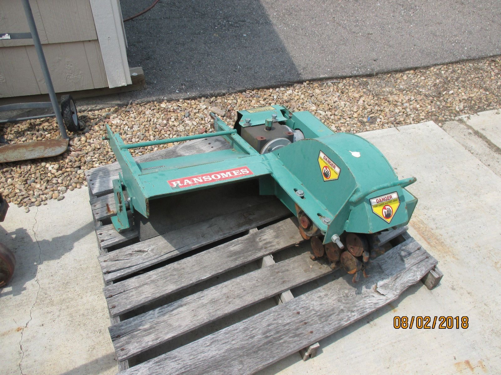 watch cb69f 294f9 Ransomes, Steiner SC101 Stump Cutter, Will Fit Some Ventrac, Stump Grinder    eBay