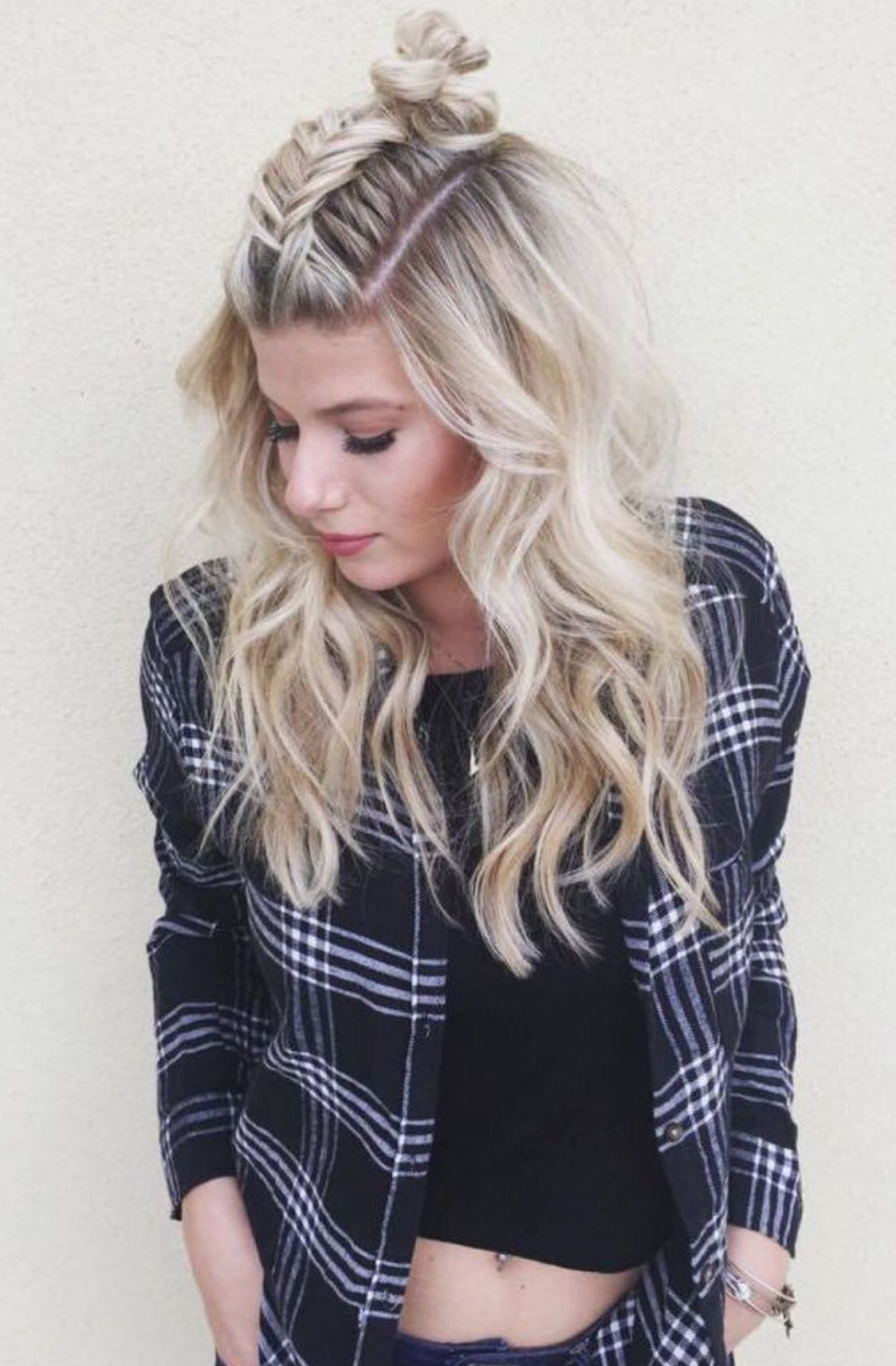 pin by miriam on hairstyles | pinterest | hair style, makeup and