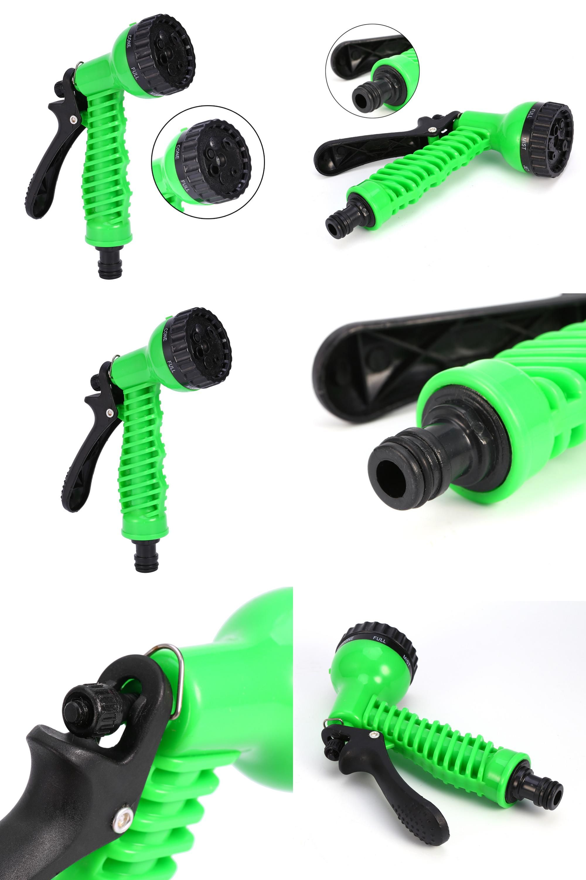 7 Functions High Pressure Garden Water Gun Garden Spray Irrigation Watering Spray Gun Car Wash Tools Fogging Nozzles Sprinkler Garden Water Guns