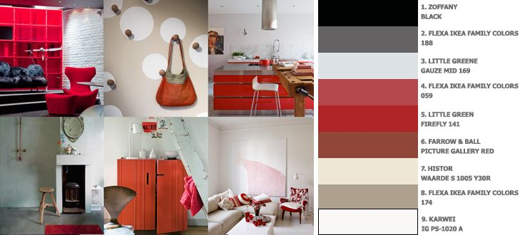 Rood in je interieur - Maison Belle - Interieuradvies - Rood, Belle ...