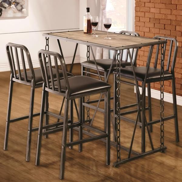 Give Your Home Dynamic Character With The Super Cool Look Of This Pub Table Set It S Especially Ideal If You Re Fascinated By Steampunk Or