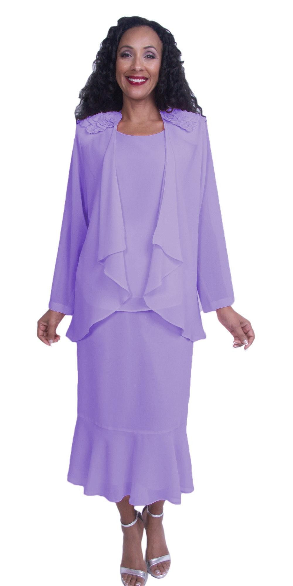 Hosanna 3830 - Plus Size Tea Length Dress White 3 Piece Set ...